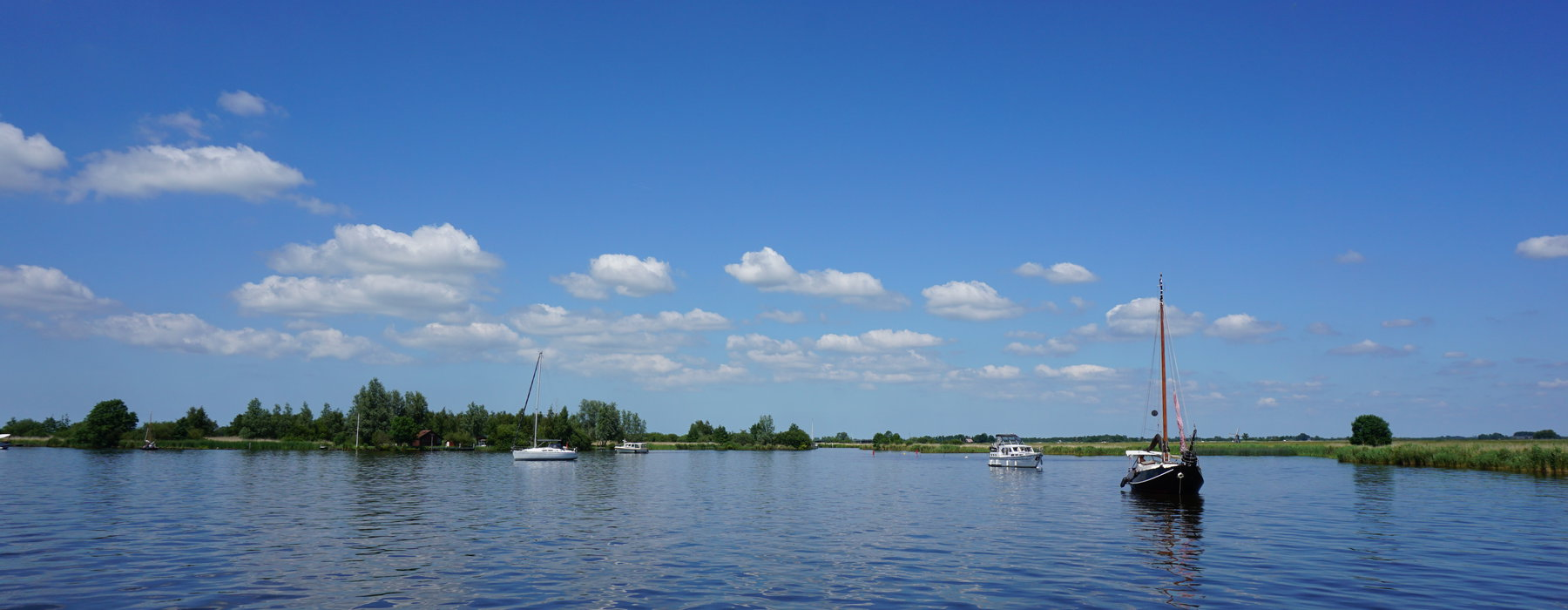 Located in the heart of the Frisian lakes