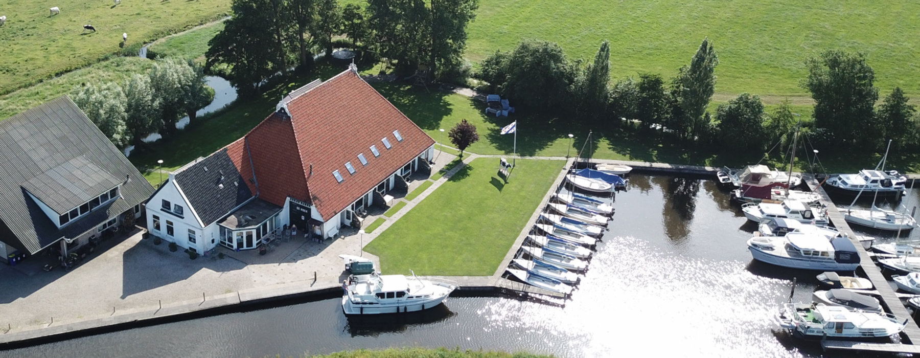 Discover Friesland from the water